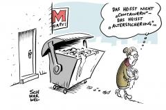 """Lebensmittel im Müll Hamburgs Justizsenator fordert Straffreiheit für """"Containern"""""""""""