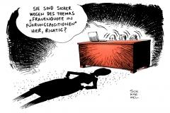 karikatur-schwarwel-frauenquote-gleichberechtigung