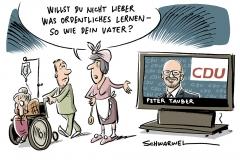 karikatur-schwarwel-job-arbeit-minijob-arbeit-peter-tauber-cdu-shitstorm