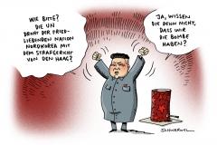 schwarwel-karikatur-nordkorea-denhaag-gerichtshof-atombombe