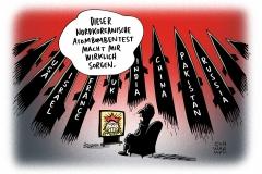 karikatur-schwarwel-atomtest-atom-nordkorea