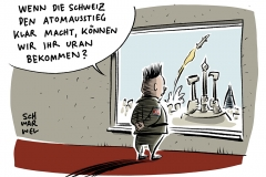 karikatur-schwarwel-atomstreit-mittelstreckenrakete-nordkorea-kim-jong-un-atomwaffen-schweiz-energiewende-atomausstieg