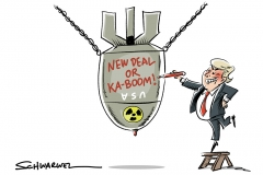 Trump und der Atomdeal: Gabriel fürchtet US-Ausstieg aus Atomdeal
