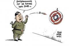 Neujahrsansprache: Kim Jong Un droht USA mit Abkehr von Entspannungspolitik