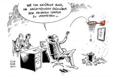 karikatur-schwarwel-negativzins-bank-sparkasse