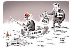 karikatur-schwarwel-ezb-monsanto-bayer