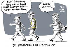 Notfallplan: EU stellt sich auf harten Brexit ein