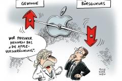 schwarwel-karikatur-boersenkurs-applekurs-boerse-kurs