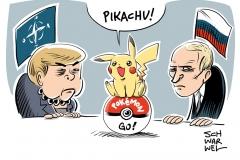 karikatur-schwarwel-pokemon-merkel-putin-nato