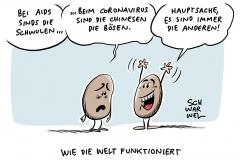 """Rassismus und Coronavirus: Die """"gelbe Gefahr"""" ist zurück"""
