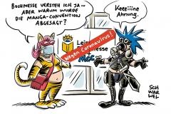 Coronavirus in Deutschland: Leipziger Buchmesse abgesagt