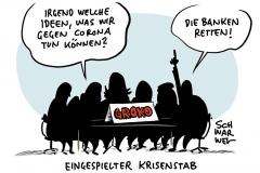 Treffen wegen Coronavirus im Kanzleramt: GroKo berät über Hilfen für Wirtschaft