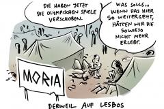 Hölle auf Erden im Flüchtlingslager Moria auf Lesbos: Kein Wasser, keine Medizin, jetzt Krätze und Angst vor Corona
