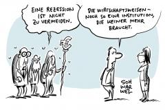 """Wirtschaftsweise: """"Rezession nicht zu vermeiden"""""""