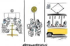 Kitas, Schulen, freie Plätze: Maskenpflicht ersetzt nicht die Abstandsregel