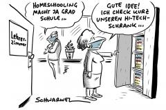 Corona und Fernunterricht: Deutliche Probleme beim Homeschooling