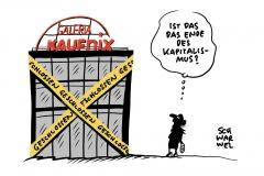 Mindestens 5.000 Jobs fallen weg: Galeria Karstadt Kaufhof schließt 62 Filialen