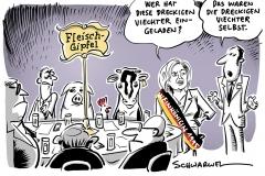 """Gespräche über Tierwohlabgabe als Show-Veranstaltung: Harsche Kritik an Klöckners """"Fleischgipfel"""""""