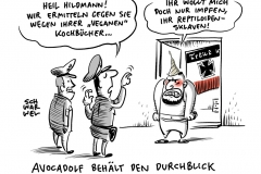 """Verdacht auf Volksverhetzung: Polizei ermittelt gegen """"Avocadolf"""" Hildmann"""