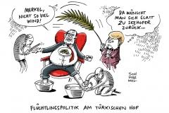 karikatur-schwarwel-merkel-seehofer-erdogan-fluechtlingspolitik