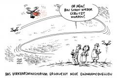 schwarwel-karikatur-drohne-drohnenfluege-fuehrerschein