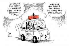 karikatur-schwarwel-taxi-selbstfahrende-autos