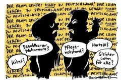 Islamdebatte: Seehofer verärgert über öffentliche Rüge durch Bundeskanzlerin