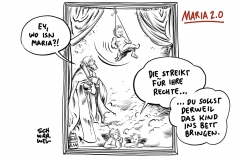 Maria 2.0: Katholische Frauen im Kirchenstreik