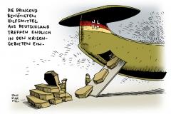 schwarwel-karikatur-waffenlieferung-deutschland-krisengebiete-krieg