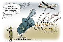schwarwel-karikatur-syrien-fluechtlinge-gewalt-terror-angst-eu-russland
