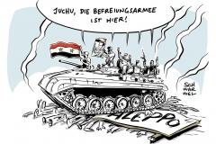 karikatur-schwarwel-syrien-aleppo-krieg-rebellen-rebellion