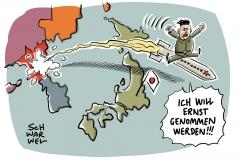 """UN-Botschafter schimpft nach eigenem Raketentest über USA: Nordkorea warnt vor """"starker Explosion"""""""
