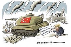 Regierungserklärung Merkel nennt sechs Punkte, um neue Flüchtlingskrise zu verhindern, Deutsche Panzer gegen Kurden: Türkei besetzt Afrin
