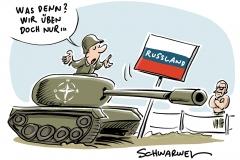 """Manöver """"Saber Strike"""": Militärische Machtdemonstration in Osteuropa"""