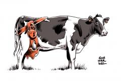karikatur-schwarwel-milch-bauer-landwirtschaft-milchgipfel-kuh