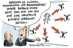 karikatur-schwarwel-maischberger-ditfurth-bosbach-tv-show-talk-g20-gipfel-krawalle