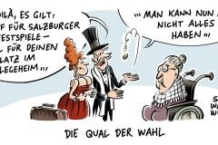 karikatur-schwarwel-salzburger-festspiele-geld-arm-armut-reich-pflege-pflegeheim-karawane-altersheim