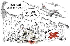 karikatur-schwarwel-aleppo-syrien-krieg-kinderarzt