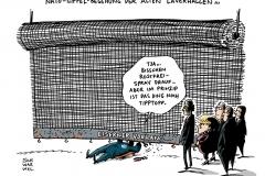 schwarwel-karikatur-gipfel-nato-vorhang