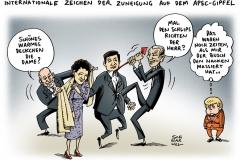 schwarwel-karikatur-apec-gipfeltreffen-obama-merkel