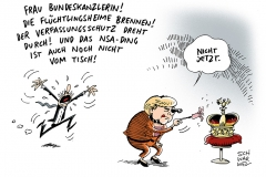 schwarwel-karikatur-amtszeit-merkel-krone