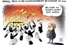 schwarwel-karikatur-merkel-fluechtlingskrise