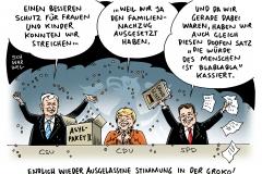 karikatur-schwarwel-asylpaket-merkel-seehofer-gabriel-groko