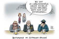 karikatur-schwarwel-glyphosat-bier-tillich-polizei-rassismus