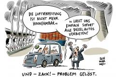 karikatur-schwarwel-auto-autos-automobil-diesel-skandal-fahrverbot-stuttgart
