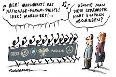 Absprachen unter deutschen Autobauern: Kartellverfahren wäre langwierig und kompliziert