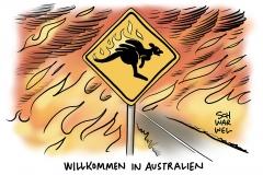 Katastrophenalarm in Canberra: Gefährliche Luftverschmutzung durch Buschbrände in Australien