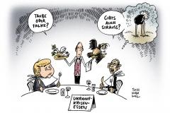 schwarwel-karikatur-essen-merkel-obama