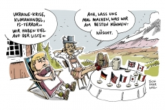 schwarwel-karikatur-g7-gipfel-merkel-obama