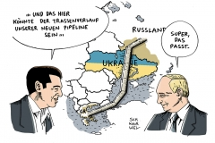 schwarwel-karikatur-pipeline-russland-ukraine-griechenland